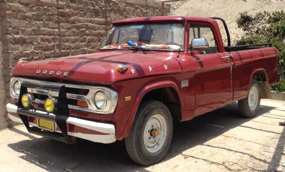 red_dodge_truck_peru